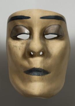 Tanzmaske von Victor Magito. Foto: Susanne Fern und Deutsches Tanzarchiv Köln 1926